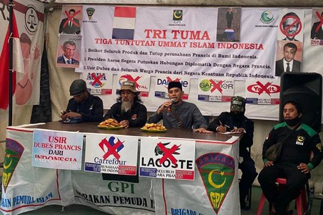 GPI Serukan Tiga Tuntutan Umat Islam Indonesia ke Presiden Jokowi