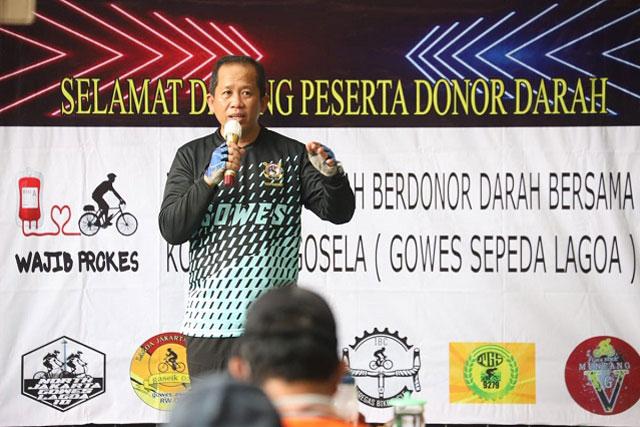 Wali Kota Jakarta Utara Ajak Warga Jadi Pahlawan Donor Darah