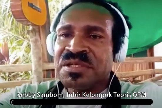Lembaga Masyarakat Adat Papua Tuding Juru Bicara TPNPB OPM Teror Warga Pendatang
