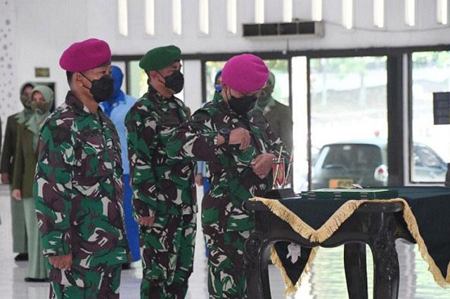 Letkol Mar Hariyono Masturi, M.Tr.Hanla., M.M Resmi Menjabat LO TNI AL Kodam IV/Diponegoro