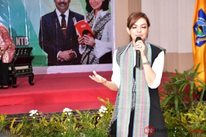 Najwa Shihab Beri Motivasi Agar Masyarakat NTB Gemar Membaca