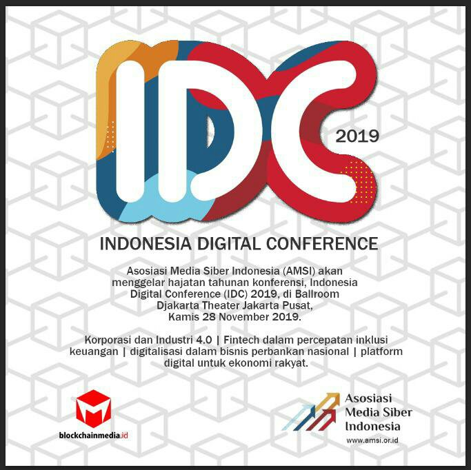 Bangun Ekosistem Digital, AMSI Gelar Indonesia Digital Conference 2019