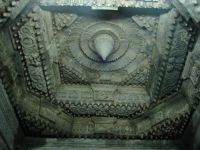 Ornate lintel over mantapa entrance in Chennakeshava temple, Belur