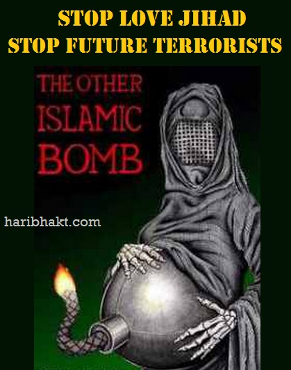 stop love jihad terrorists and future terrorists