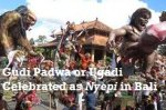 How Indian Gudi Padwa Is Celebrated As Nyepi In Indonesia