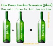 koran teaching and spreading islamic terrorism