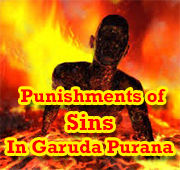 Punishments of Garuda Purana for sinners in hell
