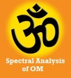 OM mantra Spectral analysis experiment
