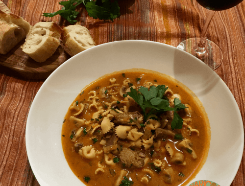 stroganoff soup