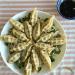 dumplings plated