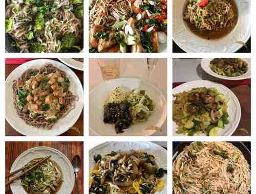 collage noodles