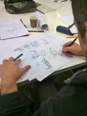 Harinera ZGZ - Taller de ilustración y cómic 1