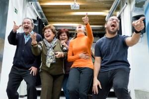 Teatro Comunitario. Sesión Teatro Foro. Harinera ZGZ. noviembre. Zaragoza. 2016. Marta Marco©.