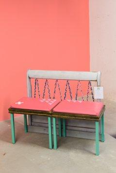 Mueble resultado del taller de marzo
