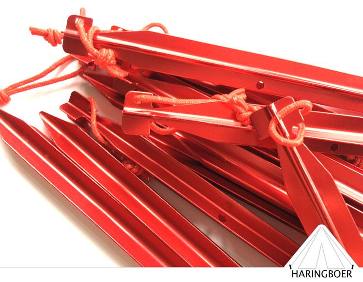 haring kopen 20cm aluminium x-haringen voor uw tent haring