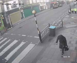 CCTV capture of the burglars