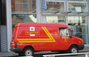 A Royal Mail van