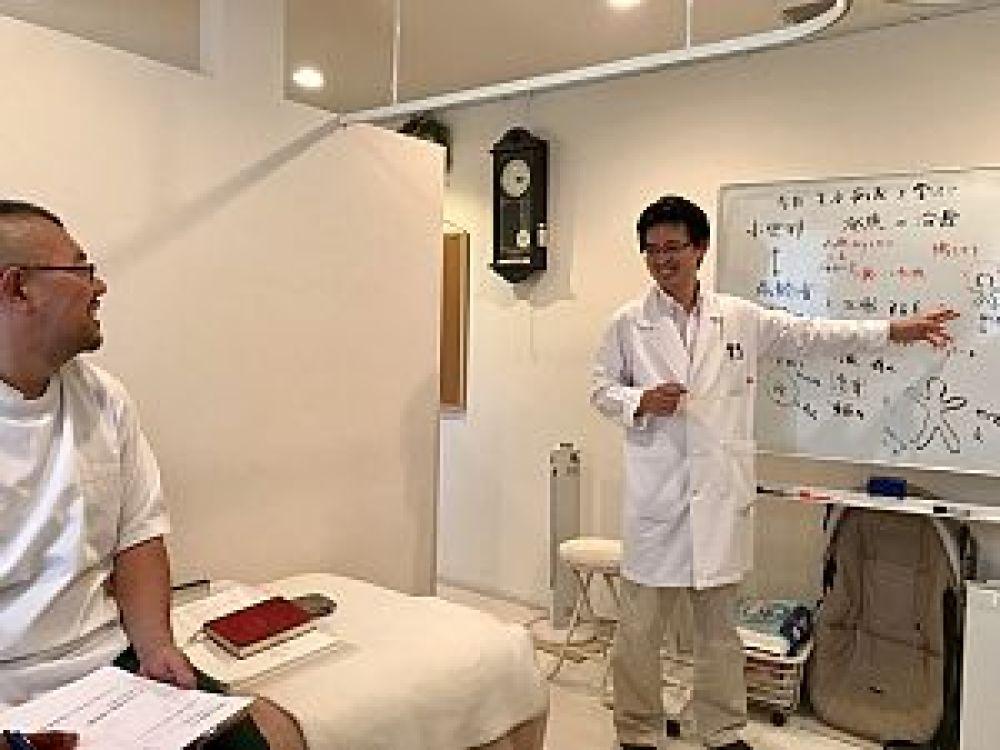 鍼道五経会の生老病死を学ぶの写真