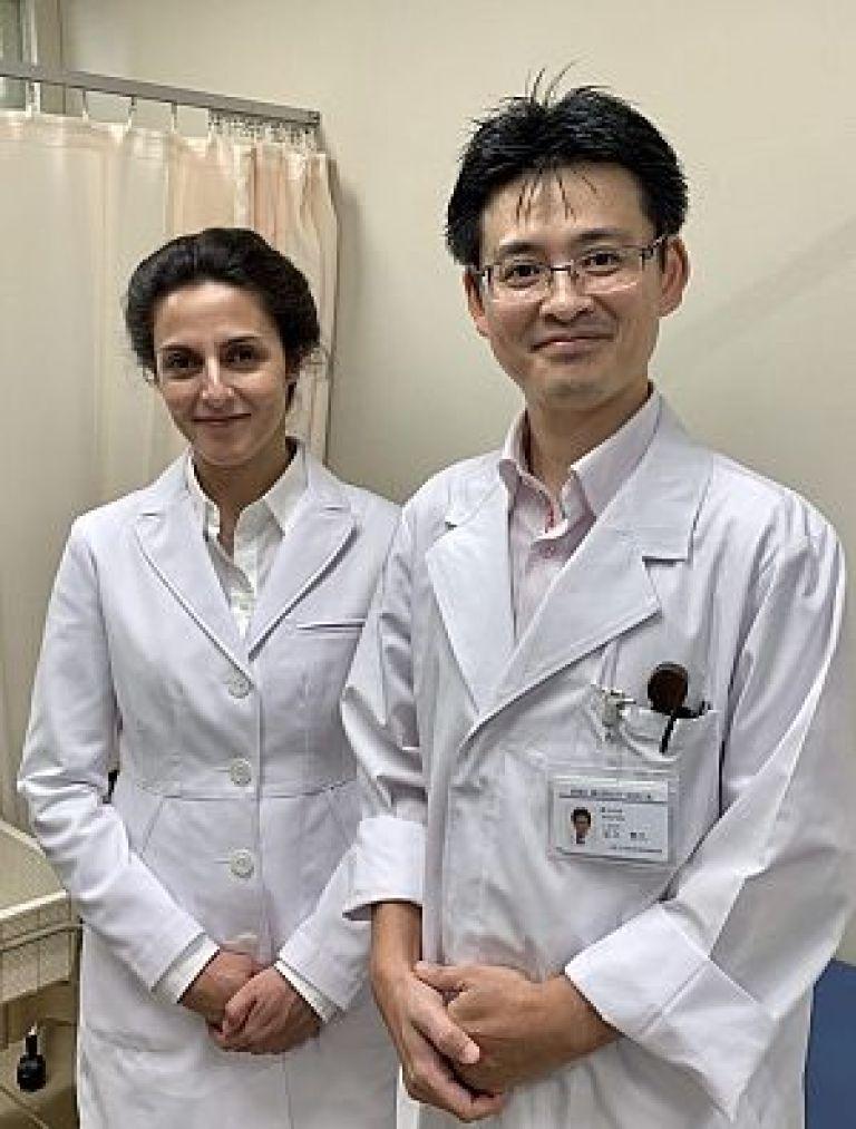 阪大病院の漢方鍼灸外来にアメリカ鍼灸師が見学に来られました