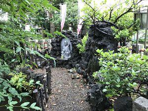 江島杉山神社にある弁才天像の写真
