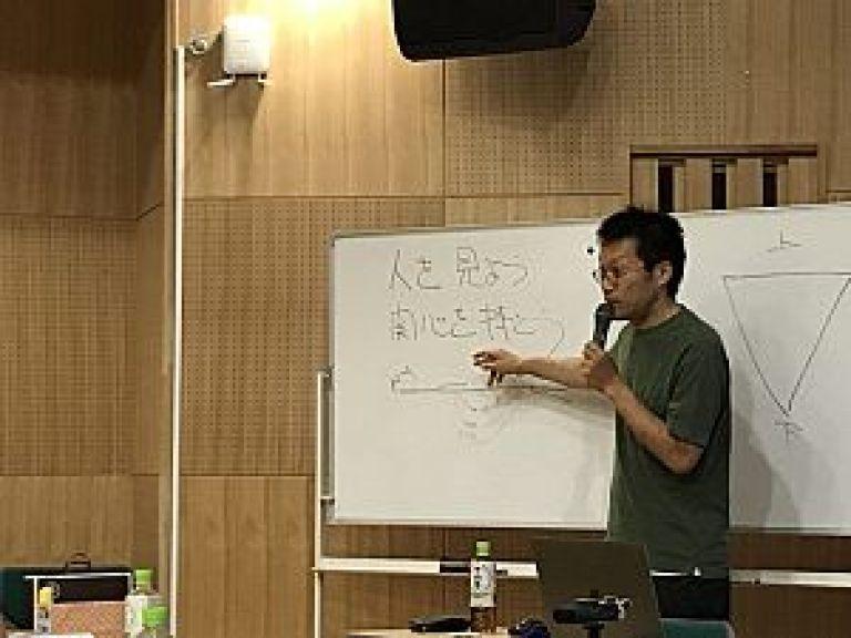 望診について熱く語る中田先生