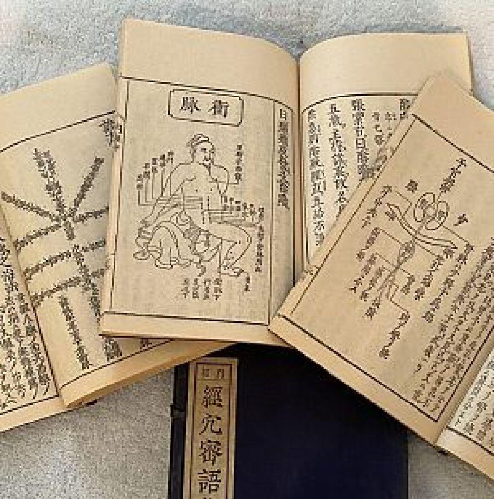 奇経八脈攷詳解またの名を経穴密語集