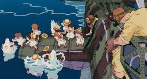 スタジオジブリの作品静止画『紅の豚』より