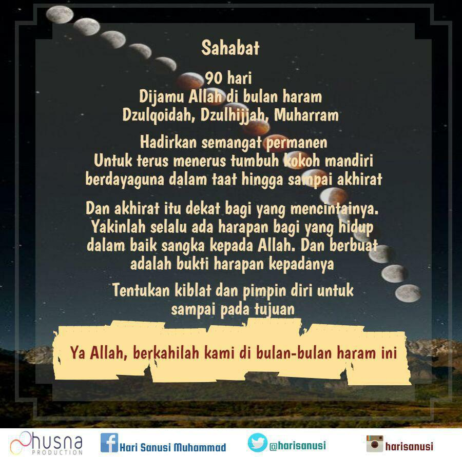 Bulan Bulan Haram Integritas Qolbu Leadership