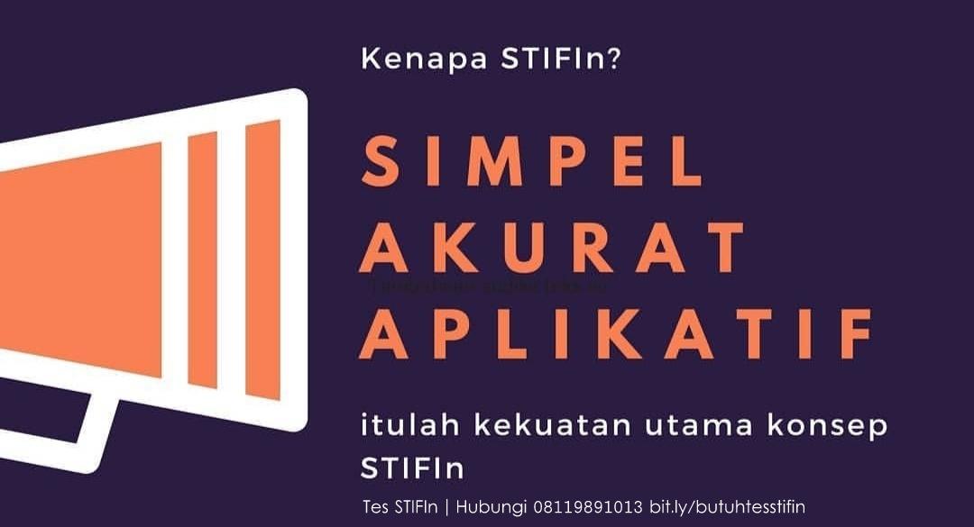 Apa itu Tes STIFIn