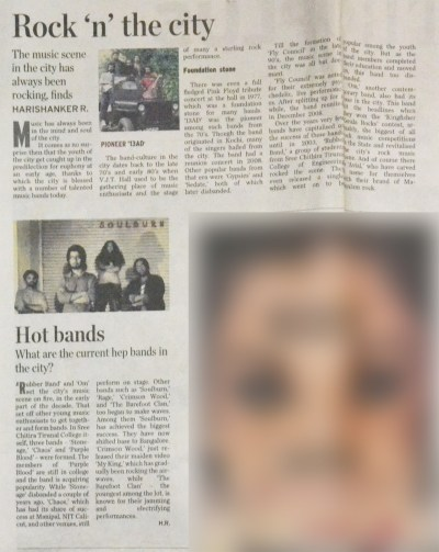Rock 'n' the City & Hot Bands