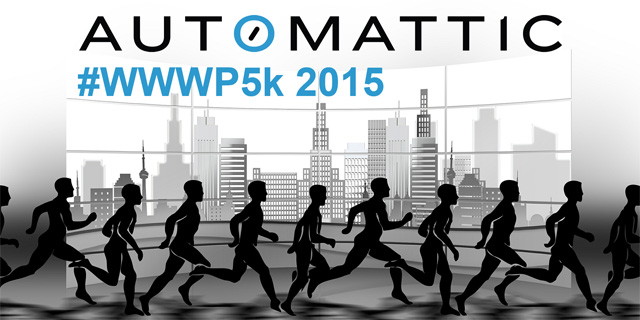 Joining Automattic's Worldwide WordPress 5K Run 2015