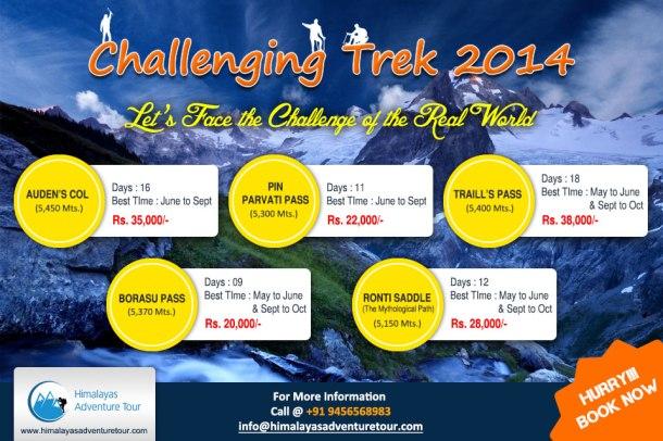 Challenging Trek 2014
