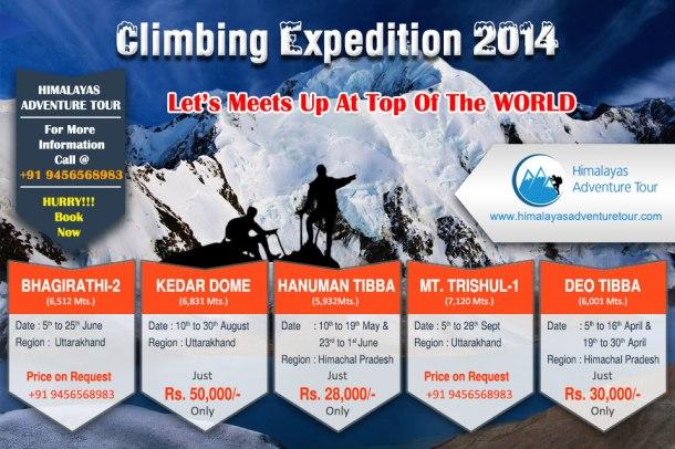 Climbing Expeditiion 2014