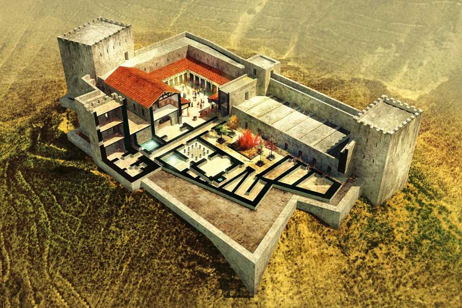 Arkeolog Menemukan Kolam Pembasuhan Monumental di Istana Herodes di Yordania