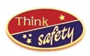 213 1161 1 - Think Safety Award Pin
