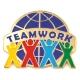 213 2061 2 - Teamwork Pin (Color) 1