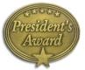 213 7611 1 - President's Award Pin