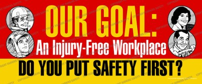 2354 WM - Our Goal.. An Injury Free Workplace