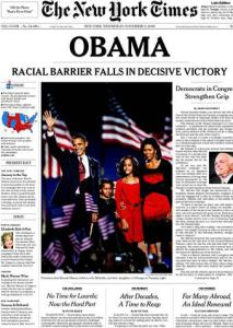 New York Times 11/5/08