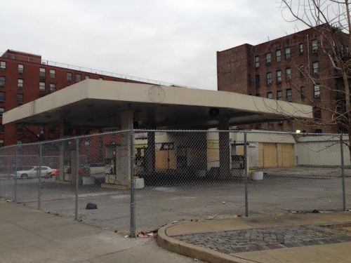 Gas station lot in Harlem HarlemCondoLife