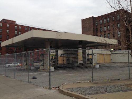 Gas station lot in Harlem HarlemCondoLife