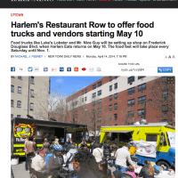 Harlem's Restaurant Row Goes Mobile - Here come the Foodtrucks!