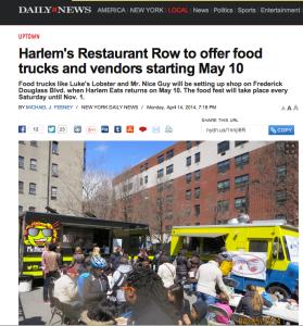 Harlem Restaurant Row Goes Mobile
