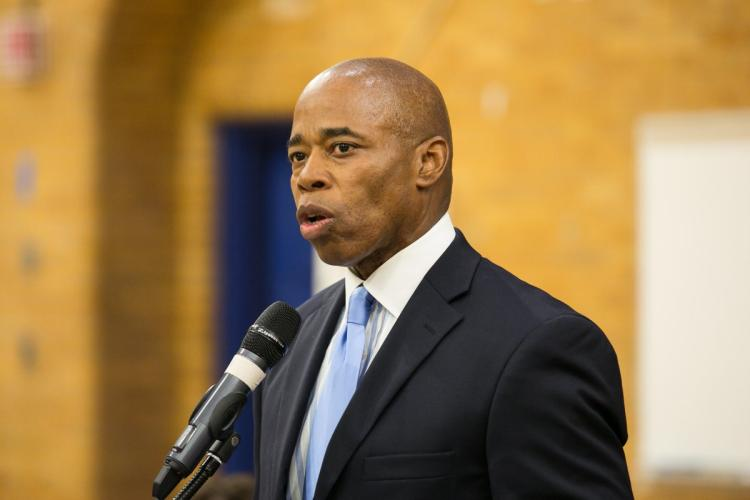Brooklyn Borough President Eric Adams is often mentioned as possible mayoral contender, but says he has made it clear he is vying for a 2021 run.