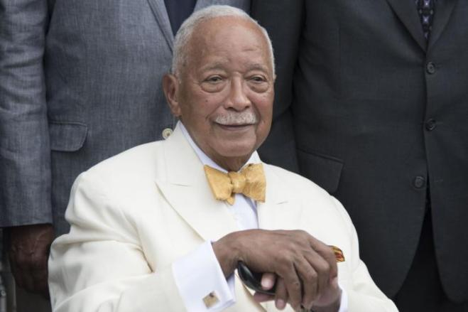 Former Mayor David Dinkins has a long-standing relationship with de Blasio.