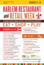 Harlem Restaurant & Retail Week Winter 2017