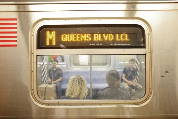The M train is one of 17 subway lines slated for service changes this weekend.