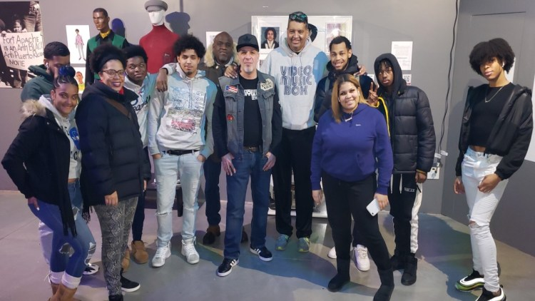 Hip Hop museum field trip