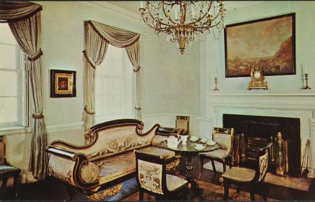tea room at jumel mansion