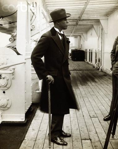 Herbert Julien on Board Ile de France